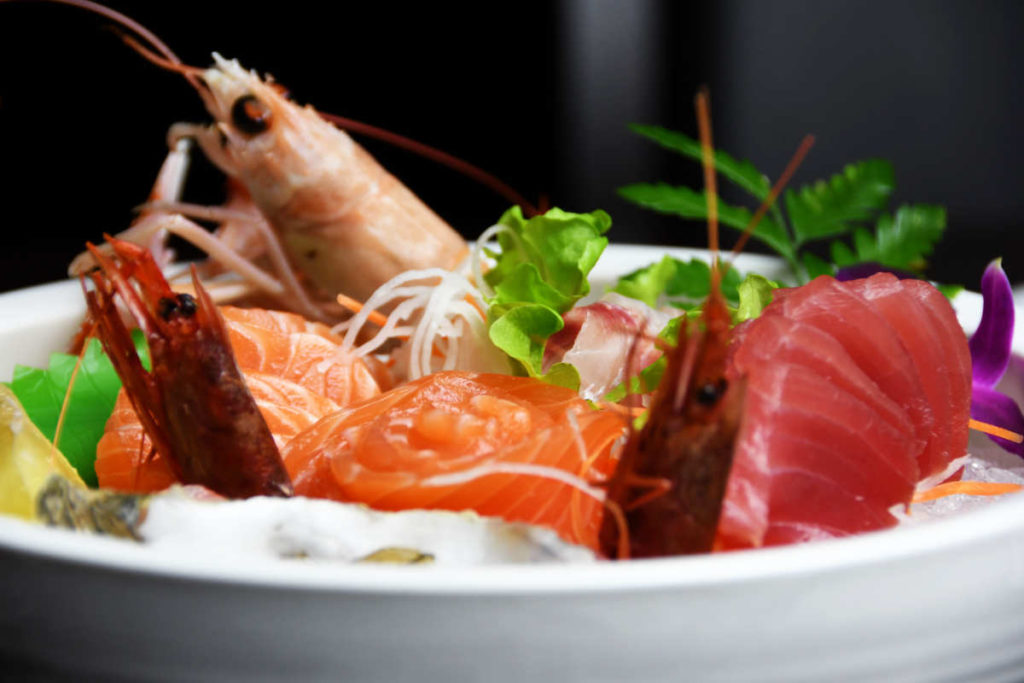 Koya Ristorante giapponese Torino sushi - piatto di pesce misto