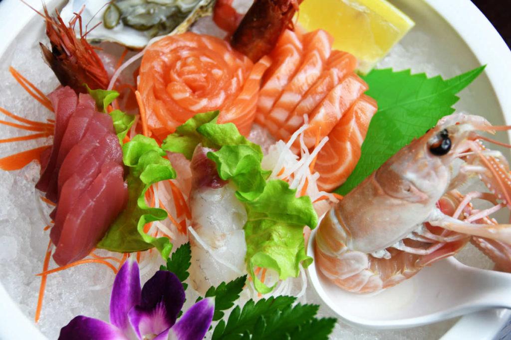 Koya Ristorante giapponese Torino sushi - piatto di pesce misto 2