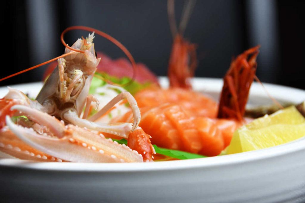 Koya Ristorante giapponese Torino sushi - piatto di pesce misto 3