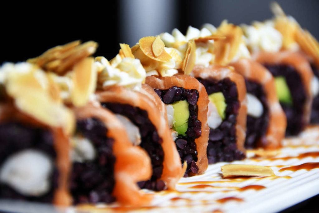 Koya Ristorante giapponese Torino sushi - roll salmone riso