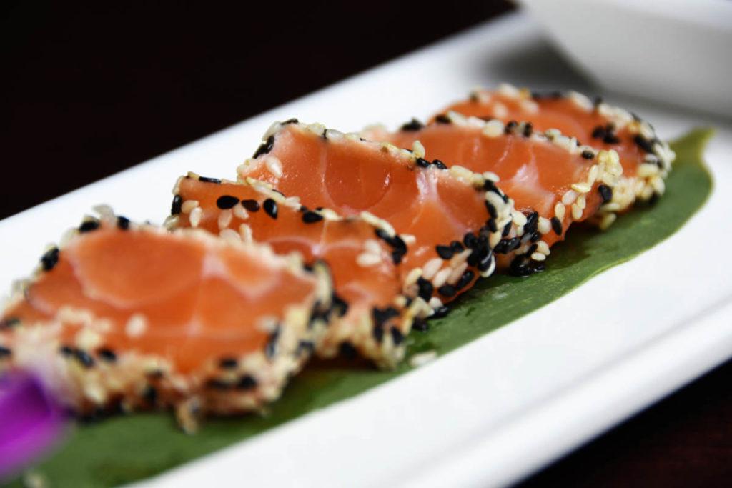 Koya Ristorante giapponese Torino sushi - salmone scottato 1