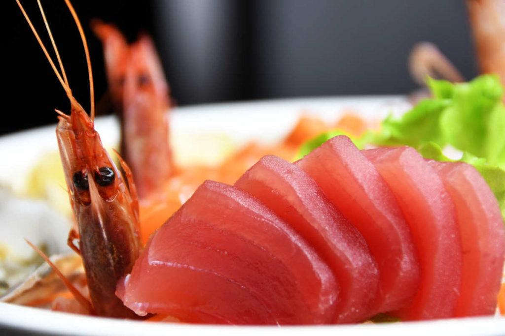 Koya Ristorante giapponese Torino sushi - tonno con gambero